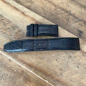 IWC Black Alligator Watch Strap AUTHENTIC